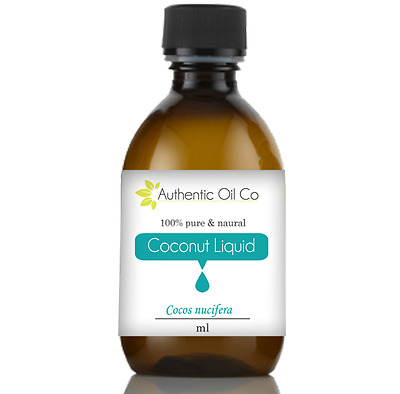 Coconut Fractionated Carrier Oil Base Cold Pressed For Massage Aromatherapy UK