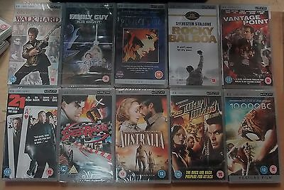 10 X UMD Movie PSP films (New & Sealed) Joblot Bundle (1)