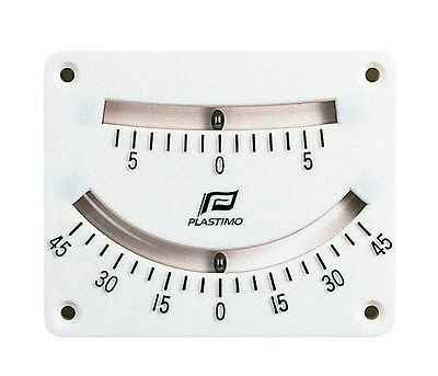 NAUTOS 51494 - Clinometer twin scale - 6° and 45° double reading - PLASTIMO