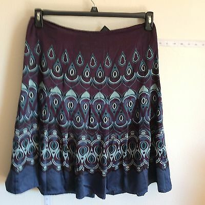 Womens Casual Party Celebrity Wear to Work EXTENSION SKIRTS SIZE 12