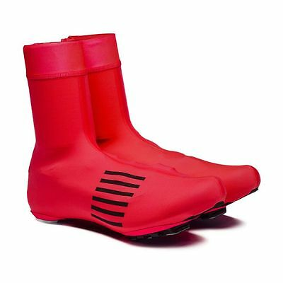 Rapha Red Pro Team Rain Overshoes. Size Small. BNWT.