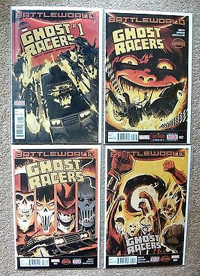 GHOST RACERS #'s 1-4 (SECRET WARS, MINI SERIES, 2015), NM NEW