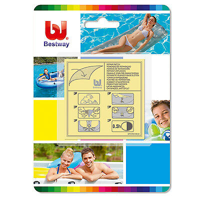 Bestway Adhesive Repair Patches X 10 Ideal for pools & inflatables