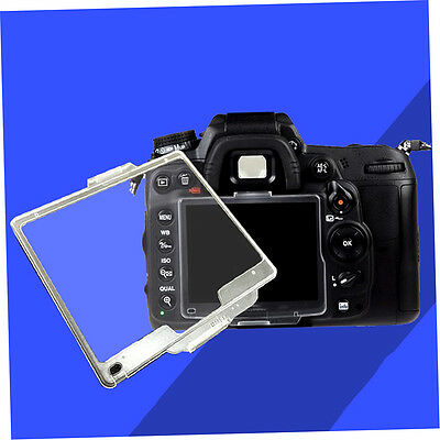 Transparent Hard Pastic LCD Screen Protector Monitor Cover BM For Nikon *X