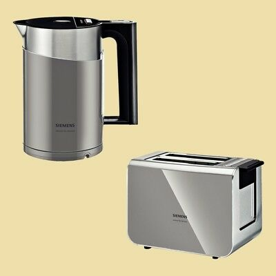 Siemens Set sensor for senses Wasserkocher TW86105P + Toaster TT86105 urban grey