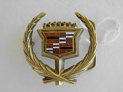Belt Buckle Cadillac Vintage 1978 Cut Out Solid Brass Gold Tone Barron Maker 939