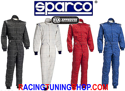 Sparco Overall Fia M-5 Suit Racing Suit Big Sizes - Fia 8856-2000 Special Price