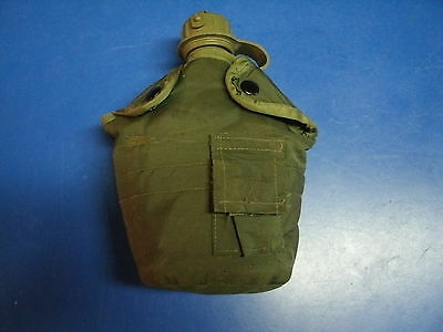 U.s. Army 1 Qt Canteen  With Cover And Alice Clips