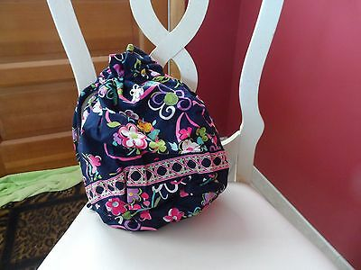 Vera Bradley ditty bag in retired Ribbons pattern  NWT