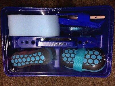 ***lincoln Hy Glitter Blue Complete Grooming Kit***