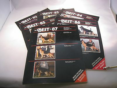 "German Shepherd ""The Best Of"" Magazines 1982-1987"