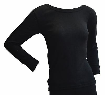 OCTAVE® 6 Pack Womens Wind Trap Thermal Underwear Long Sleeve T-Shirt/Vest/Top