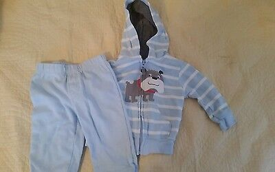 Carter's Baby Boy 6 Months 2 piece set/Pants And Hoodie