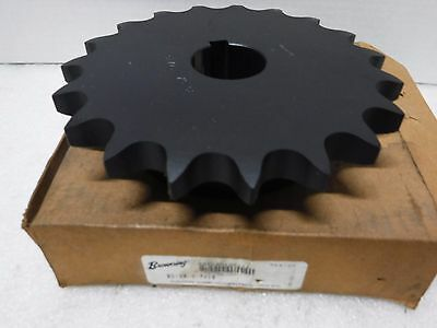 """Browning 8019X1 7/16  Roller Chain Sprocket 1-7/16"""" BORE 19 TEETH #80 CHAIN"""