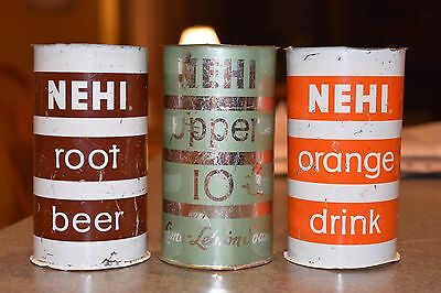 1950's Nehi Soda Cans