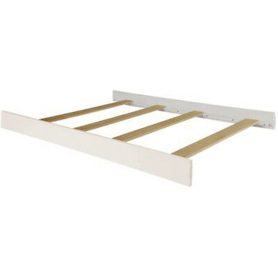 Full Size Conversion Kit Bed Rails for Baby Cache Heritage - White
