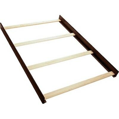 Full Size Conversion Kit Bed Rails for Baby Cache Essentials - Espresso