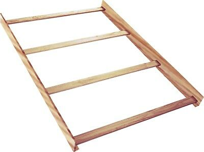 Full Size Conversion Kit Bed Rails for Baby Cache Kensington - Natural