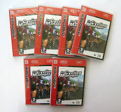 6 x Pro Cycling Manager PC Games Wholesale Lot **New/Sealed - Clearance Stock**