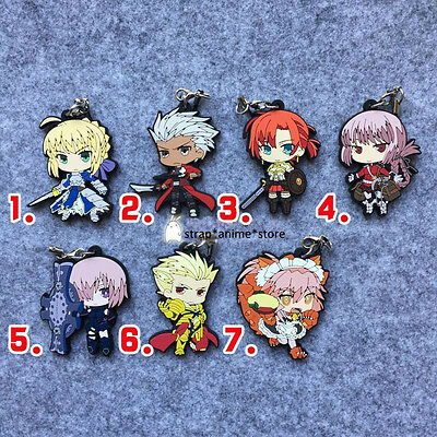 Fate / Grand Order Anime Rubber Strap Keychain Charm
