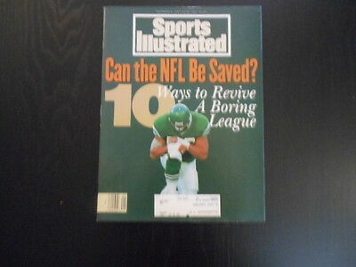 """Sports Illustrated,December 6, 1993 Issue, """"Can the NFL Be Sa?"""" magazine"""