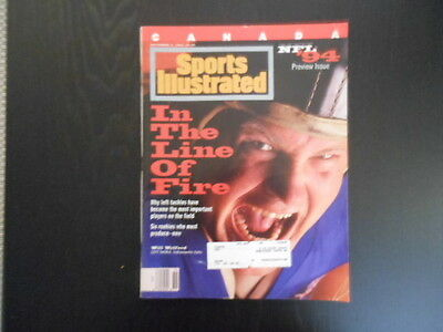 """Sports Illustrated,Septembe 5, 1994 Issue, """"In the Line of Fire"""" magazine"""