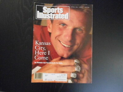 """Sports Illustrated,April 26,1993 Issue, """"Kansas City, Here I Come"""" magazine"""