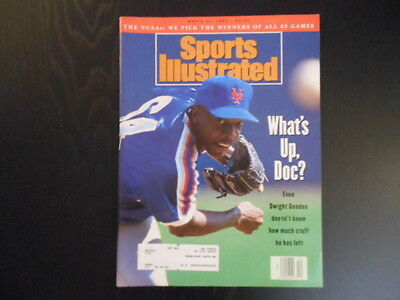 """Sports Illustrated, March 22,1993 Issue, """"What's Up,Doc?"""" magazine"""