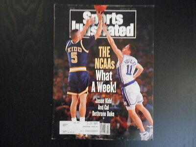 """Sports Illustrated, March 29,1993 Issue, """"The NCAA's What A Week!"""" magazine"""