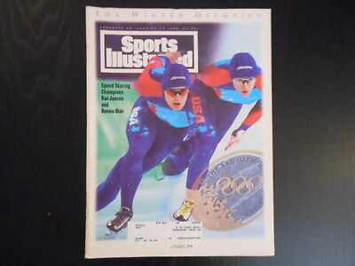 """Sports Illustrated, February 28,1994 Issue, """"The Winter Olympics"""" magazine"""