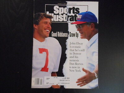 """Sports Illustrated, August 2, 1993 Issue, """"Good Riddance Grow Up"""" magazine"""