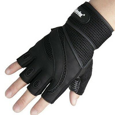 Weight lifting Body Building Gym Training Fitness Gloves Workout Sports Exercise