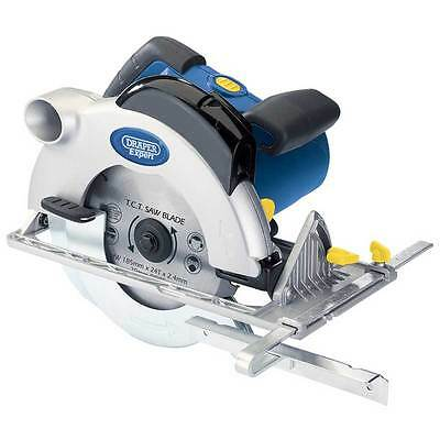 Draper Expert CS185K 1600w 185mm Circular Saw 110v with Laser Cutting Guide (BA)