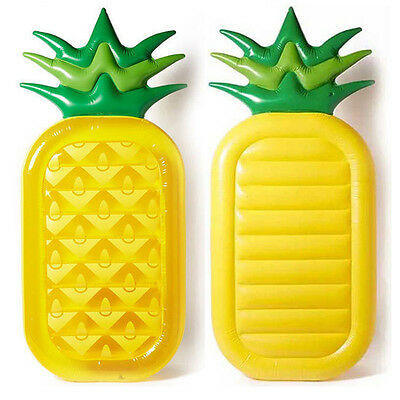 Swimming Pool Giant Inflatable Pineapple Swim Float Toy Summer Water Raft Boat