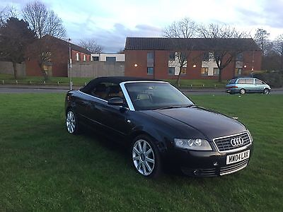 Audi A4 S-line cabriolet 2004 full loaded low mileage HPI clear