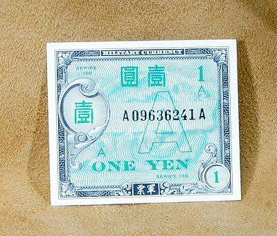 ((( Japan One Yen Military Currency WWII, series 100  A ))))