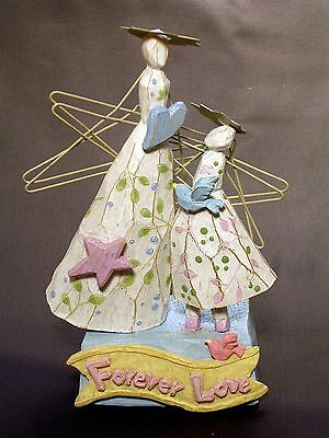 """Dream Watchers """"forever Love"""" Figurine By Enesco New"""