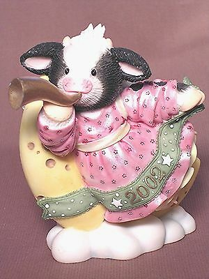 "Mary's Moo Moos ""oh Night Bovive"" Enesco New"