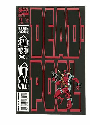 Deadpool 1 The Circle Chase!  GORGEOUS COPY!!