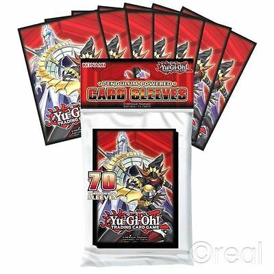New Yu-Gi-Oh! Pack Of 70 Pendulum-Powered Card Sleeves Deck Protector Official