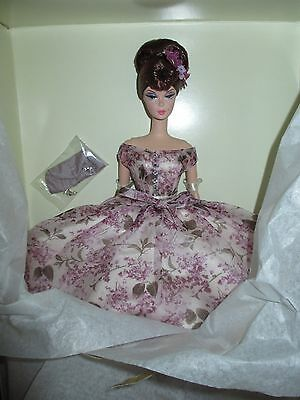 VIOLETTE Silkstone Barbie - Mint With SHIPPER- Platinum Label!  NRFB  RARE
