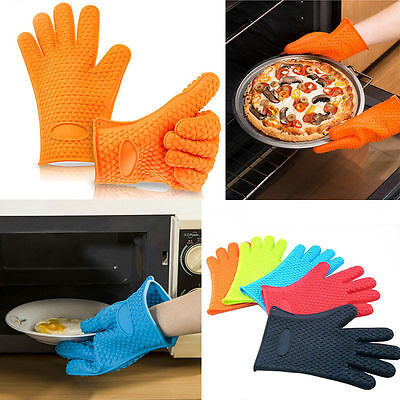 Protect Your Hands From Burn HQ Silicone Glove Random Color