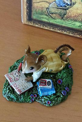 """Wee Forest Folk M-410 """"Meadow Musings"""" WFFCC SPECIAL 2014 mint"""