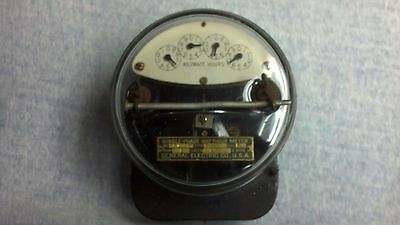 General Electric  Watt-Hour Meter I-14Y 5AMP 110 Volts