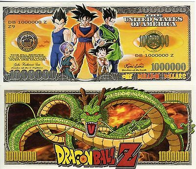 Dragonball Z - Video Game Series Million Dollar Novelty Money