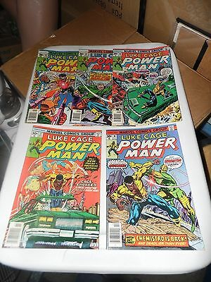Luke Cage Hero For Hire Lot of 5 #36 #37 #40 #43 and #44