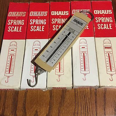 Lot of 5 Ohaus  Spring Scales