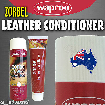 Zorbel Leather Conditioner - Clean Polish Leather Shoes Bags Couches Clothing