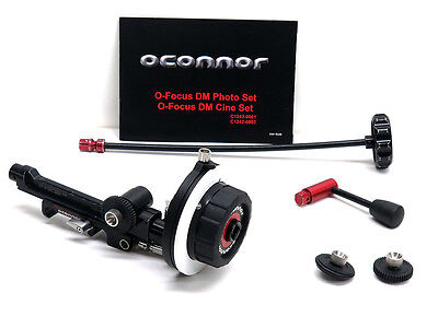OConnor O-Focus Dual Mini Cine Set DM O'Connor follow focus CFF-1 whip & crank