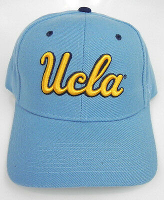 c783e4accdb32 Ucla Bruins Light Blue Ncaa Vintage Fitted Sized Zephyr Dhs Cap Hat Nwt!  Blubut
